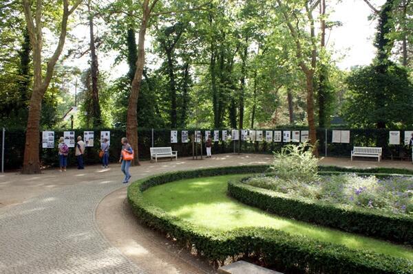 Ausstellungsansicht Villencolonie Alsen am Großen Wannsee | ©GHWK / M. Haupt