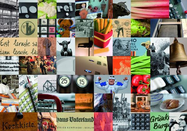 Collage mit Eindrücken von der Vielfalt des CULINARIUM | © Stiftung Domäne Dahlem