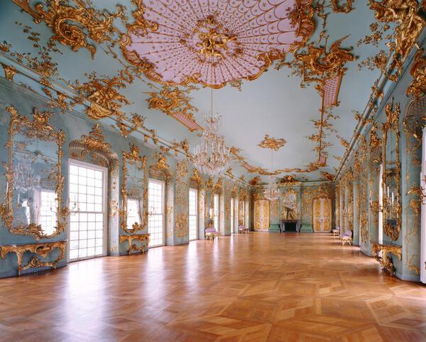 Schloss Charlottenburg, Goldene Galerie im Neuen Flügel | © SPSG / Foto: Leo Seidel