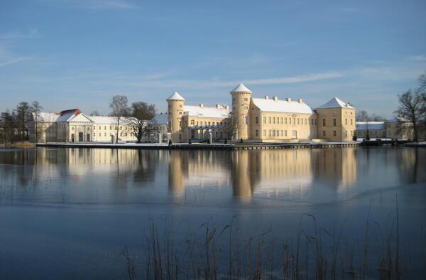 Schloss Rheinsberg im Winter   © SPSG