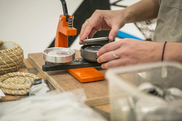 Workshop in der Berlinischen Galerie | Foto: Pascal Rohe
