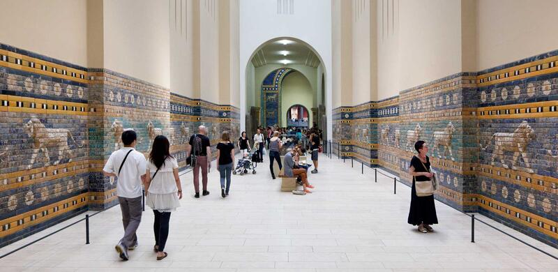 Take five. Highlights of the Pergamonmuseum. (Guided Tour in English)
