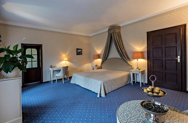 Hotelbereich im Schloss Cecilienhof | Foto: P. M. Bauers / SPSG