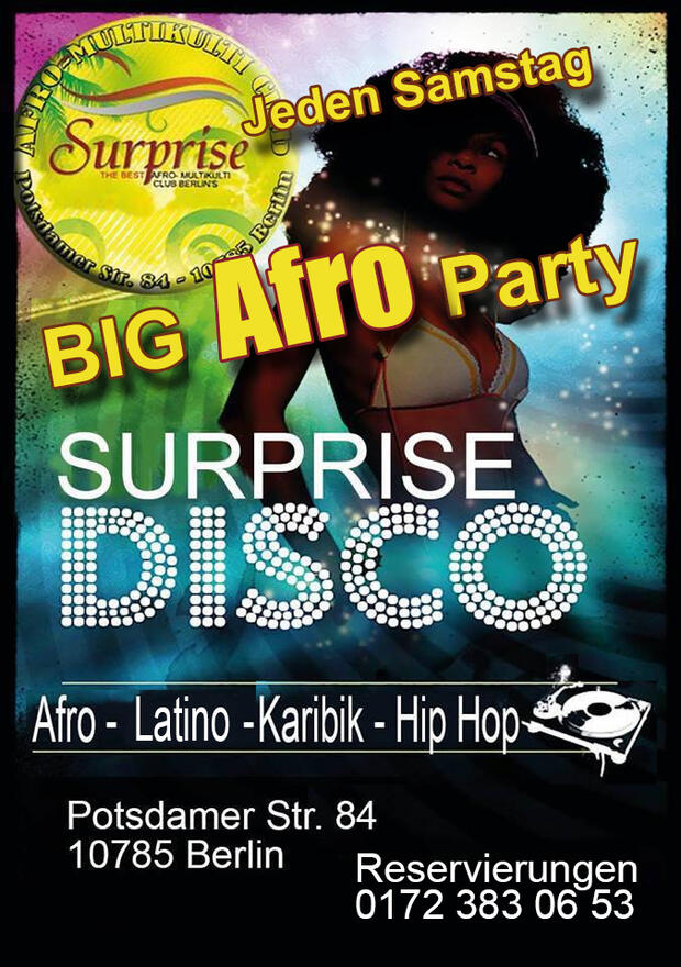 Big Afro Party