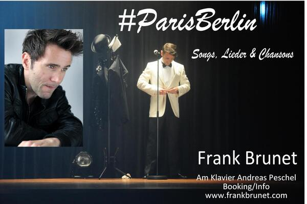 #ParisBerlin   Frank Brunet