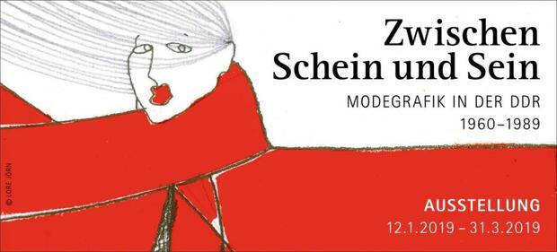 Zwischen Schein und Sein – Modegrafik in der DDR 1960-1989