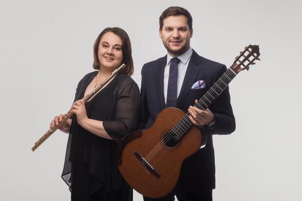 Eine musikalische Reise: Rita D'Arcangelo (Flöte), Jakub Kościuszko (Gitarre)