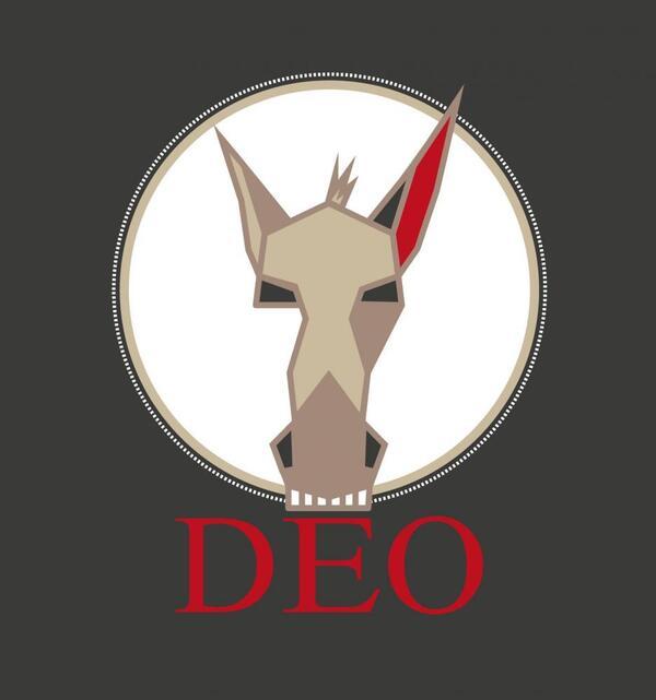 DEO Lesebühne Logo   rasterwert / M. Ziems