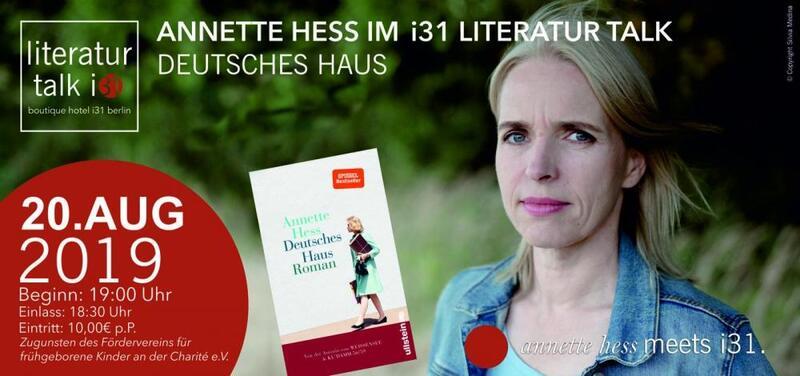 i31 Literatur Talk: Annette Hess