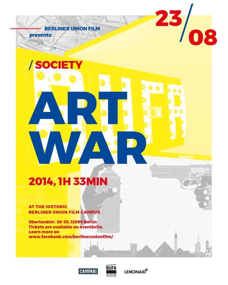 BUFA Summer Film Series: Art War