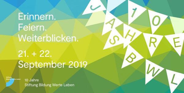 Einladung 10 Jahre Stiftung Bildung Werte Leben   SBWL