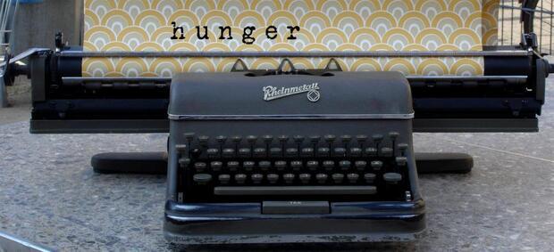 Textur – Denkraum – Schreibmaschine