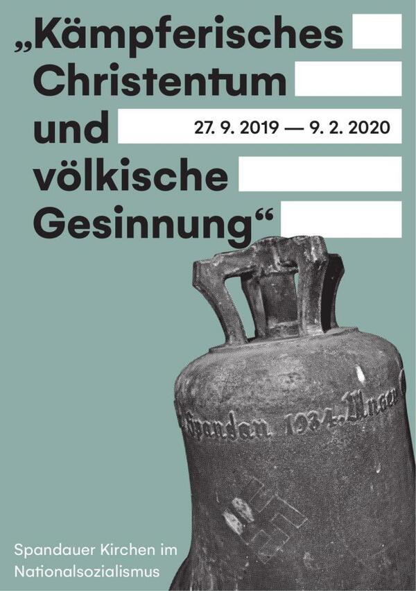Flyer zur Ausstellung | Stadtgeschichtliches Museum Spandau 2019