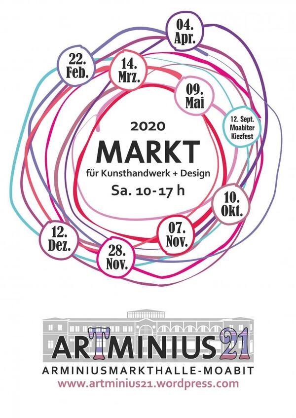 Flyer ArTminius21 | Inga Damberg