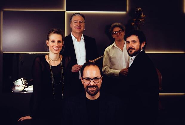Jazz Club Dinner: Paolo Eleodori (dr) und die KPM Jazzband