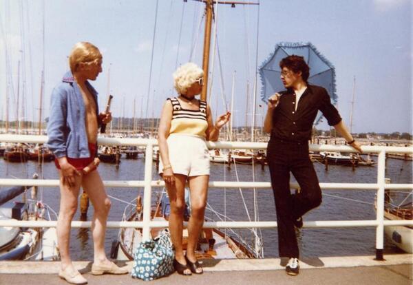Filmstill aus Die Bettwurst (1971) von Rosa von Praunheim | Rosa von Praunheim