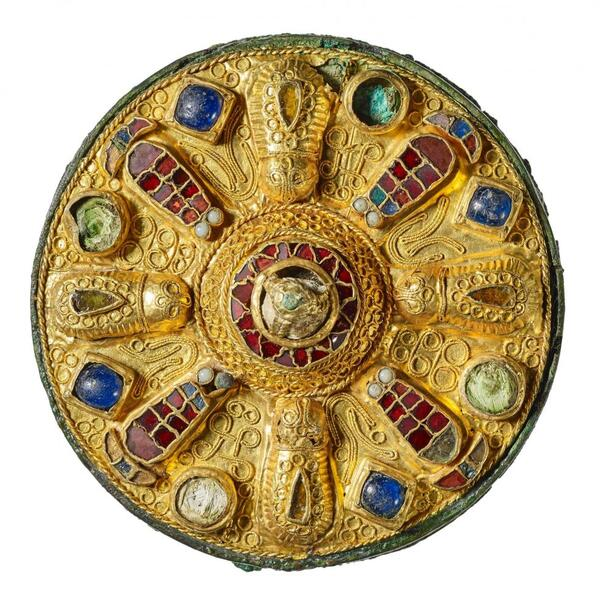 Goldscheibenfibel aus NRW | Jürgen Vogel / LVR-Landesmuseum Bonn
