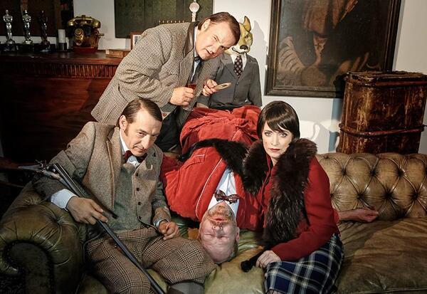 Mord auf Schloss Haversham (The play that goes wrong) | Barbara Braun/ drama-berlin.de