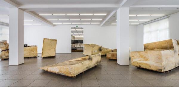 Joseph Beuys, Unschlitt / Tallow, 1977 | © VG Bild-Kunst, Bonn 2018 / Staatliche Museen zu Berlin, Nationalgalerie / 1995 erworben durch das Land Berlin / Jan Windszus