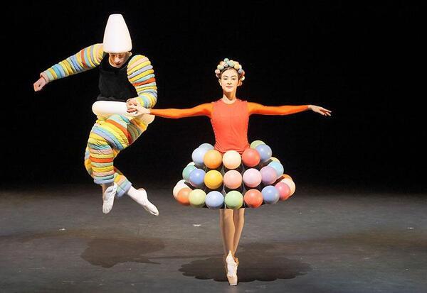 Das triadische Ballett | wilfried hosl
