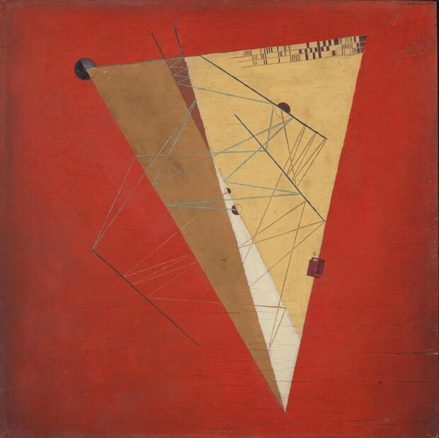 100 Jahre Bauhaus I: Alfred Ehrhardt – Malerei, Zeichnung, Grafik