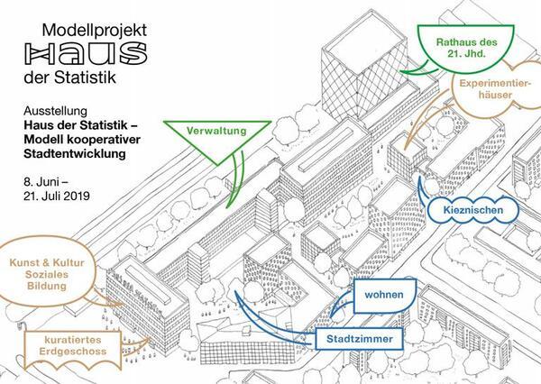 Stadtplanung: Haus der Statistik   Stadtplanung: Haus der Statistik