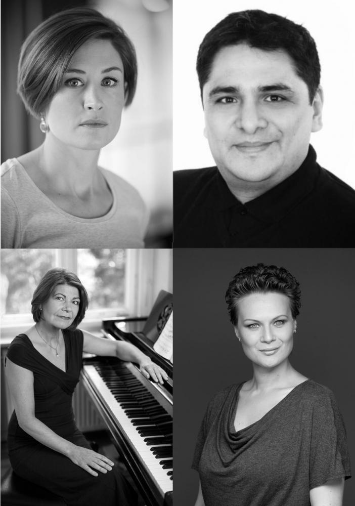 Martha O'Hara (Sopran), Ivana Milek (Mezzosopran), Enrique Ambrosio (Tenor), Angela Maria Stoll (Klavier), Alina Sarah Stoll (Moderation)