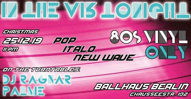 In The Air Tonight – 80s Vinyl Only
