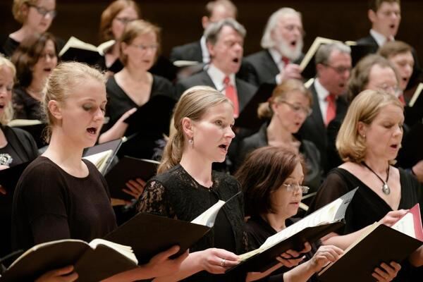 Bildausschnitt Sopran | Chor der Johanneskirche Schlachtensee