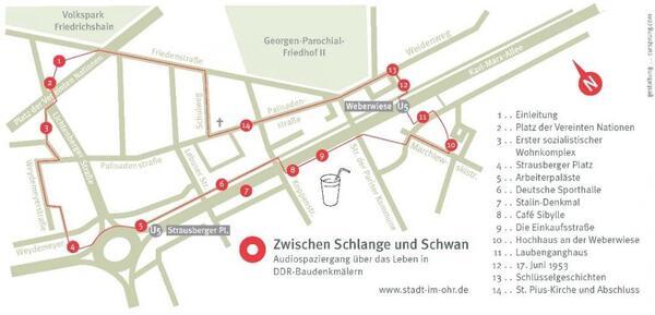 Audiotour Zwischen Schlange und Schwan | stadt-im-ohr.de
