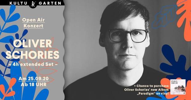 Open Air @Kulturgarten: Oliver Schories