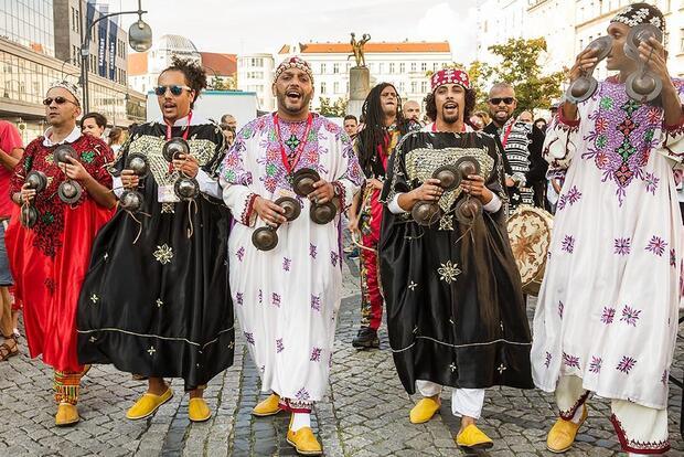 Gnaoua Parade – Gnaoua Festival Berlin No2