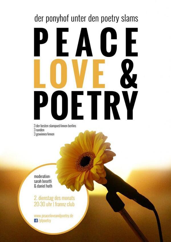 Peace, Love & Poetry | Peace, Love & Poetry