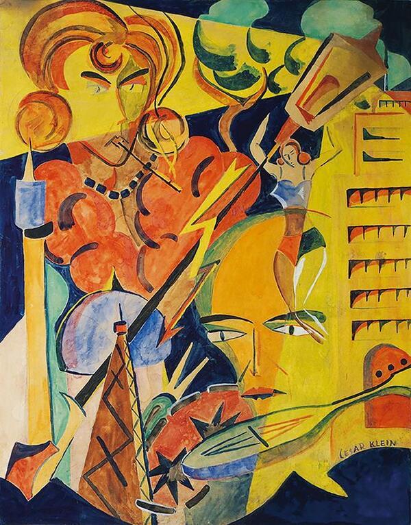 Cesar Klein | Salongalerie ››Die Möwe‹‹