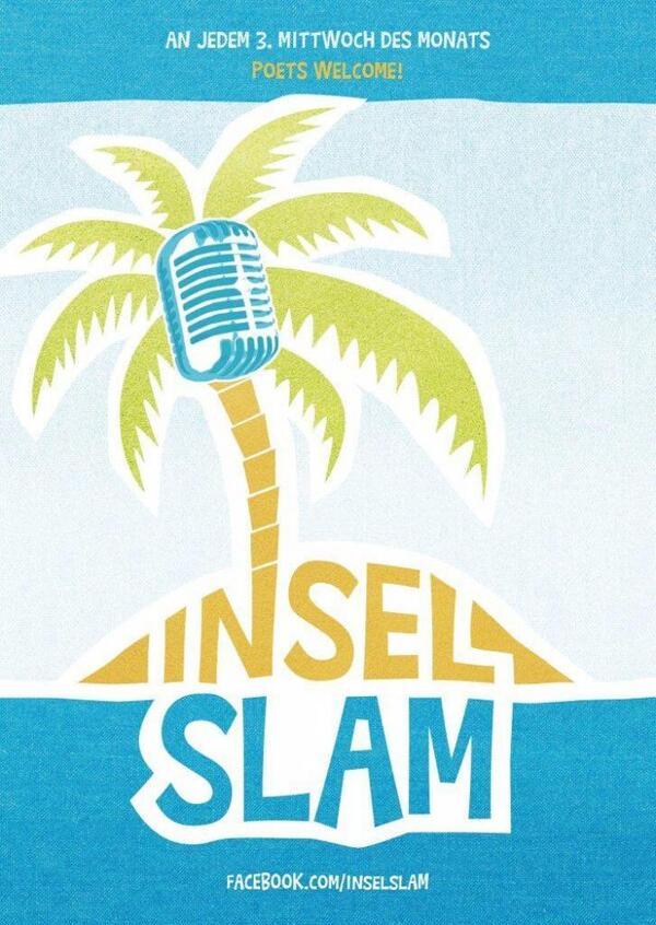 Insel Slam Logo | Sarah