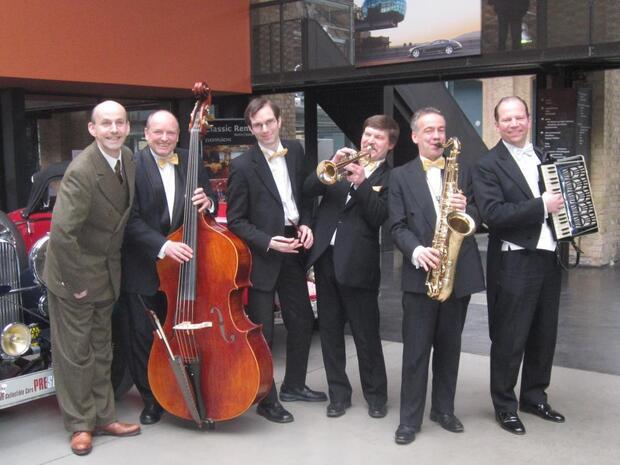 Oster-Tanztee mit dem Salon-Orchester Berlin (live)