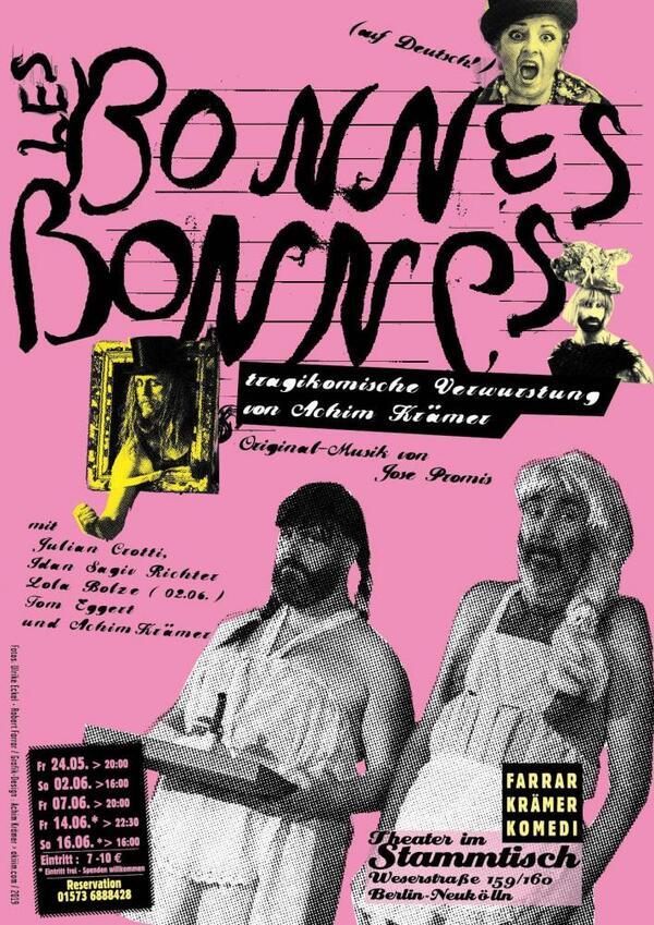 Les BonnesBonnes | grafik-design: Achim Krämer, fotos: Ulrike Eckel, Robert Farrar