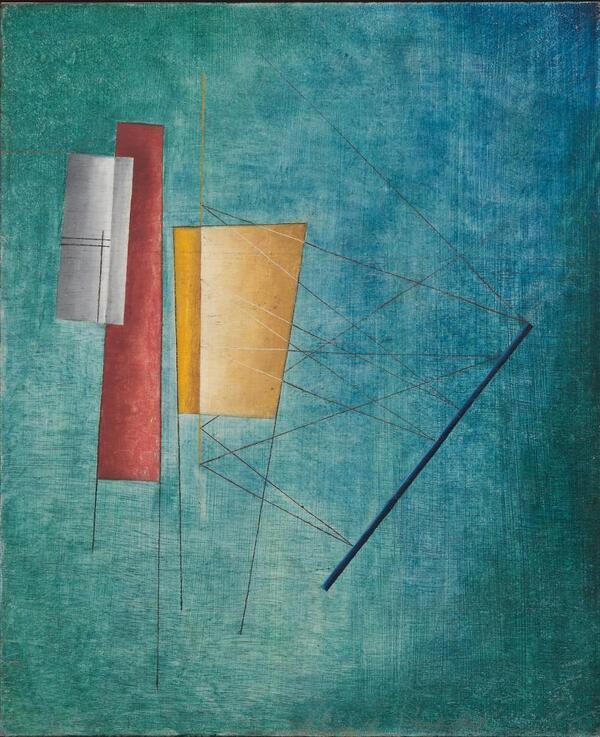Ohne Titel (Abstrakte Komposition) | Alfred Ehrhardt Stiftung