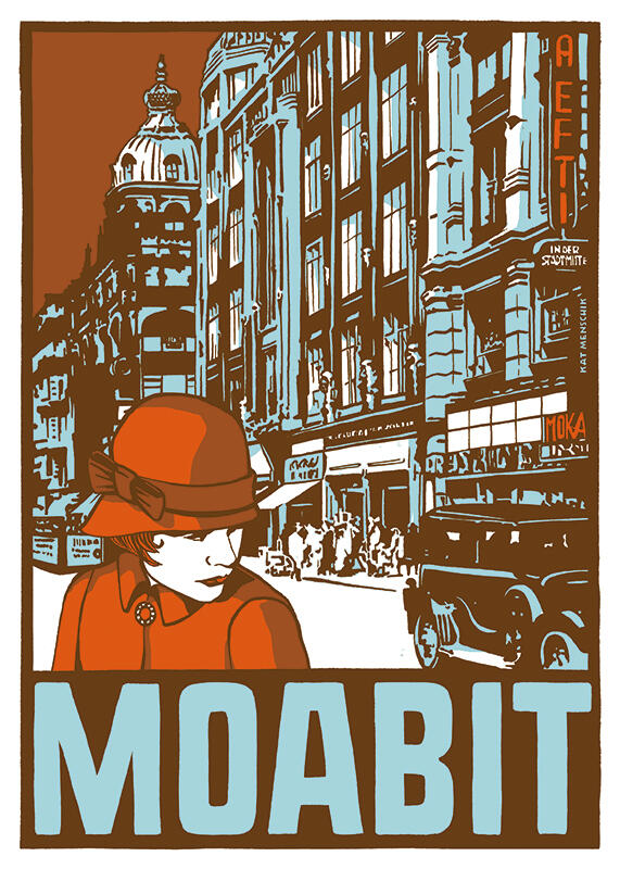 Kat Menschik – Moabit