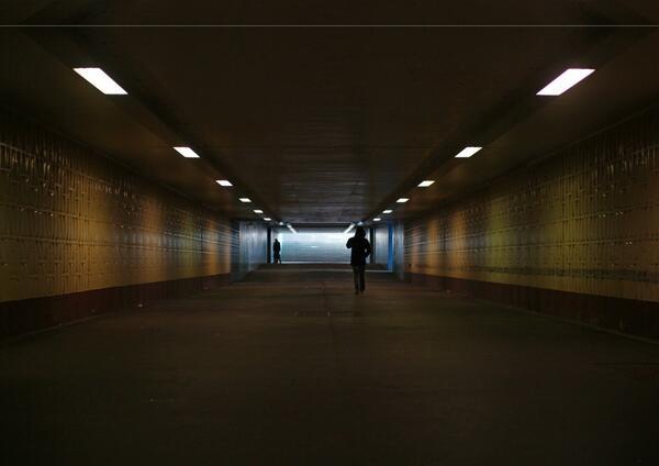 Eine Unterführung an der Raoul-Wallenberg-Straße. Dort griff ein Dutzend Neonazis mit einer Eisenstange einen Migranten anFoto: Antirassistische Registerstelle der Alice-Salomon-Hochschule
